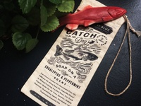 Catch of the Day Soap Bag