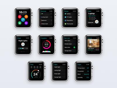 Smart Home Watch App app home smart apple watch