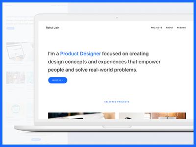 Portfolio Design case study product ux design portfolio
