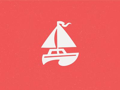 Sailor's Delight nashville delight sailor red nautical sailing logo logo design branding boat wave negative space water seafood logo bar branding restaurant branding sail bar logo marina sailboat restaurant logo