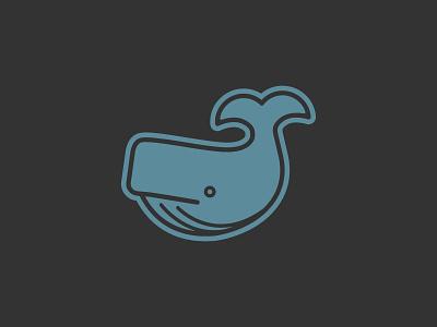 Ahab's Eatery food restaurant mug pen austin nashville icon ocean seafood fish whale logo