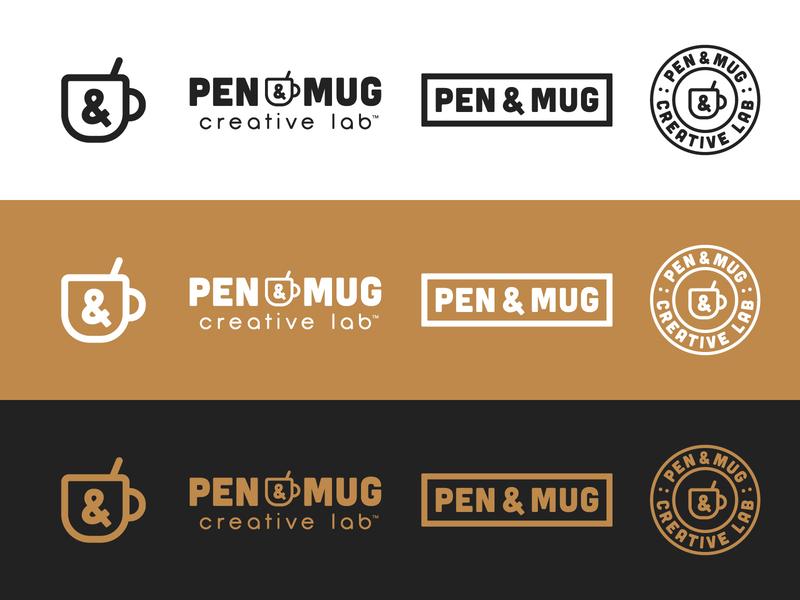 NEW LOGO clean simple identity branding coffee nashville transition tight simplify refresh rebranding mark brand design brand logo new logo rebrand mug pen pen and mug