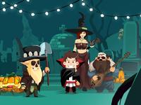 Halloween in Megawins