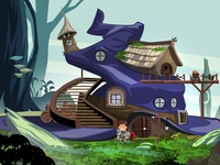 Wizard Hat House