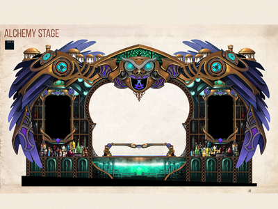 Alchemy stage - UNTOLD festival