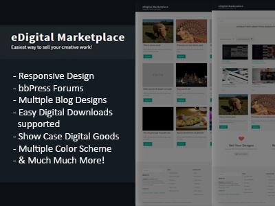 WordPress Multivendor Digital Marketplace responsive dashboard author multivendor wordpress marketplace digital marketplace