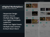 WordPress Multivendor Digital Marketplace