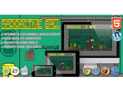HTML5 Games: Radioactive Ball