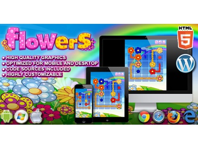 HTML5 Game: Flowers