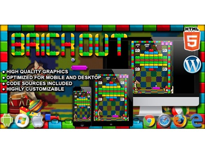 HTML5 Games: Brick Out