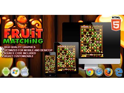 HTML5 Games: Fruit Matching