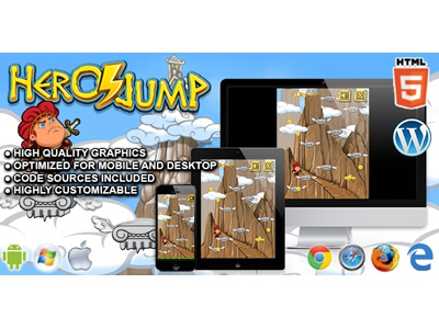 HTML5 Games: Hero Jump