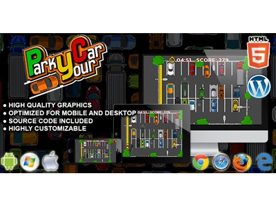 HTML5 Games: Park Your Car parking games games html5 cars parking