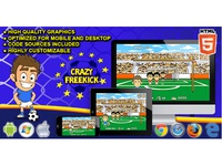 HTML5 Games: Crazy Freekick