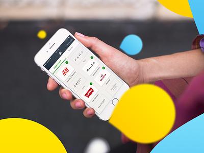 Influans e-commerce app ios app mobile app fashion app brands e-commerce app ecommerce case study