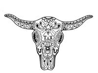 Cow Sugar Skull