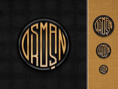 Enamel Logo Pin logo pin osman osman.work pin logo enamel pin enamel