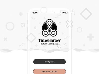 Barber Dating App - Time Barber time design osman.work imagery salesman appointment ui ux design ux ui dating barber mobile app app mobile