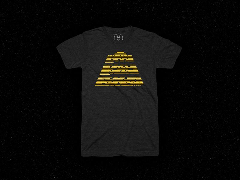 The Crawl skew yellow a galaxy far far away shirt space movie crawl thecrawl galaxy starwars star wars tshirt