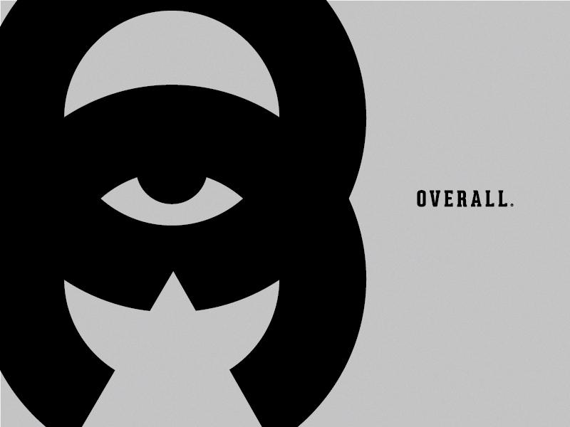 O V E R L O R D circles logomark visual design design overlords overall branding mark thicklines logo