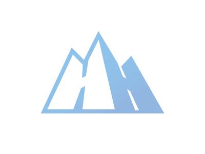 Hyland Hills Ski Area logo concept