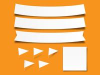 Paper Strips (Illustrator Formats)