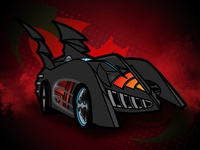 1997 Batmobile -  Batman and Robin