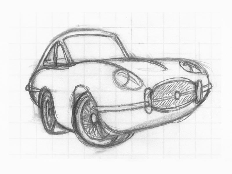 The Love Bug Thorndyke S Jaguar By Justin Ellis Dribbble Dribbble