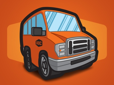 Draplin Design Company - Myrth and Merch Van