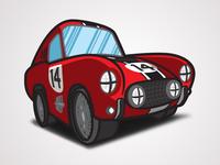 The Love Bug - Thorndyke's 1956 Ferrari 250 GT