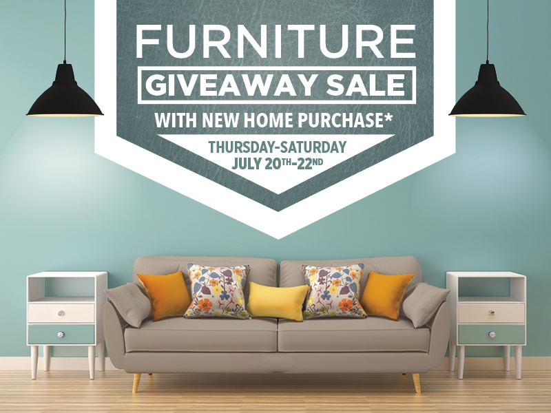 Furniture Giveaway Promo - Clayton Homes by Justin Ellis on ... on farmers furniture sales paper, big lots sale paper, badcock furniture sales paper,