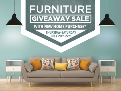 Furniture Giveaway Promo   Clayton Homes
