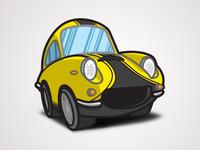 The Love Bug - Thorndyke's Cartoon Special (Apollo 5000 GT)