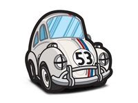 The Love Bug - Cartoon Racing Herbie