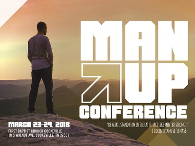 High Resolutions - Man Up Conference Promo
