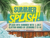 Clayton Homes - Summer Splash Design