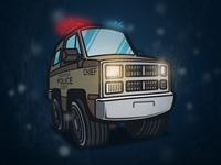 Stranger Cars - Hopper's Truck
