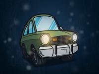 Stranger Cars - Joyce's Pinto