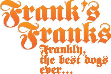 Frank's Franks Type Logo