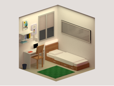lowpoly isometric isometric lowpoly blender 3d artist