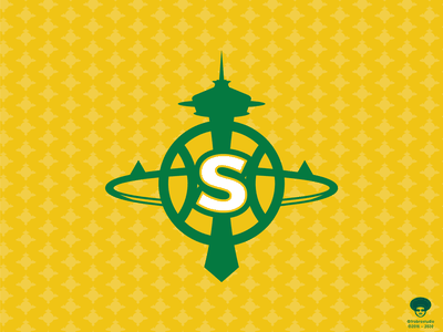 Seattle SuperSonics - Redux basketball logo basketball sports branding vector design logo seattle nba