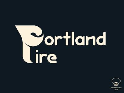 Portland Fire (WIP) graphic designnba women sports monogram design logo basketball wnba