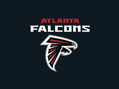 Atlanta Falcons Logo Redux wordmark nfl design nfl branding design sports font type logo