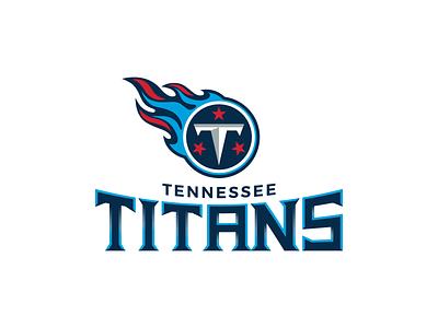 Tennessee Titans Wordmark football nashville tennessee wordmark nfl design nfl typography branding vector sports design logo