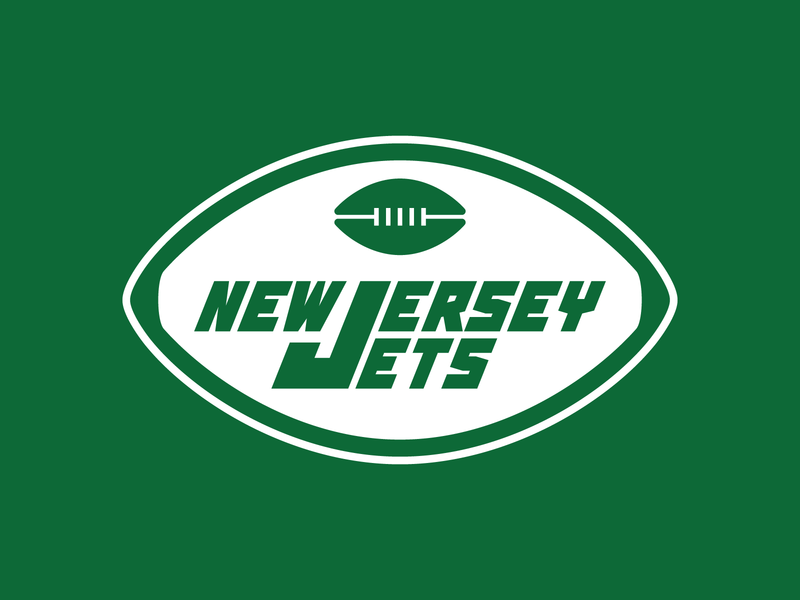 New Jersey Jets Logo new jersey new york nfl design football nfl typography branding graphic design typeface vector font type sports design logo