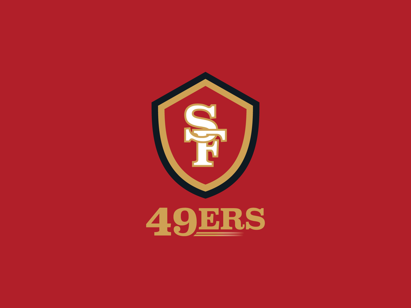 San Francisco 49ers Logo california san francisco nfl design football nfl vector sports design logo