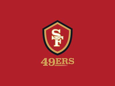 San Francisco 49ers Logo california san francisco nfl design football nfl vector sports design logo