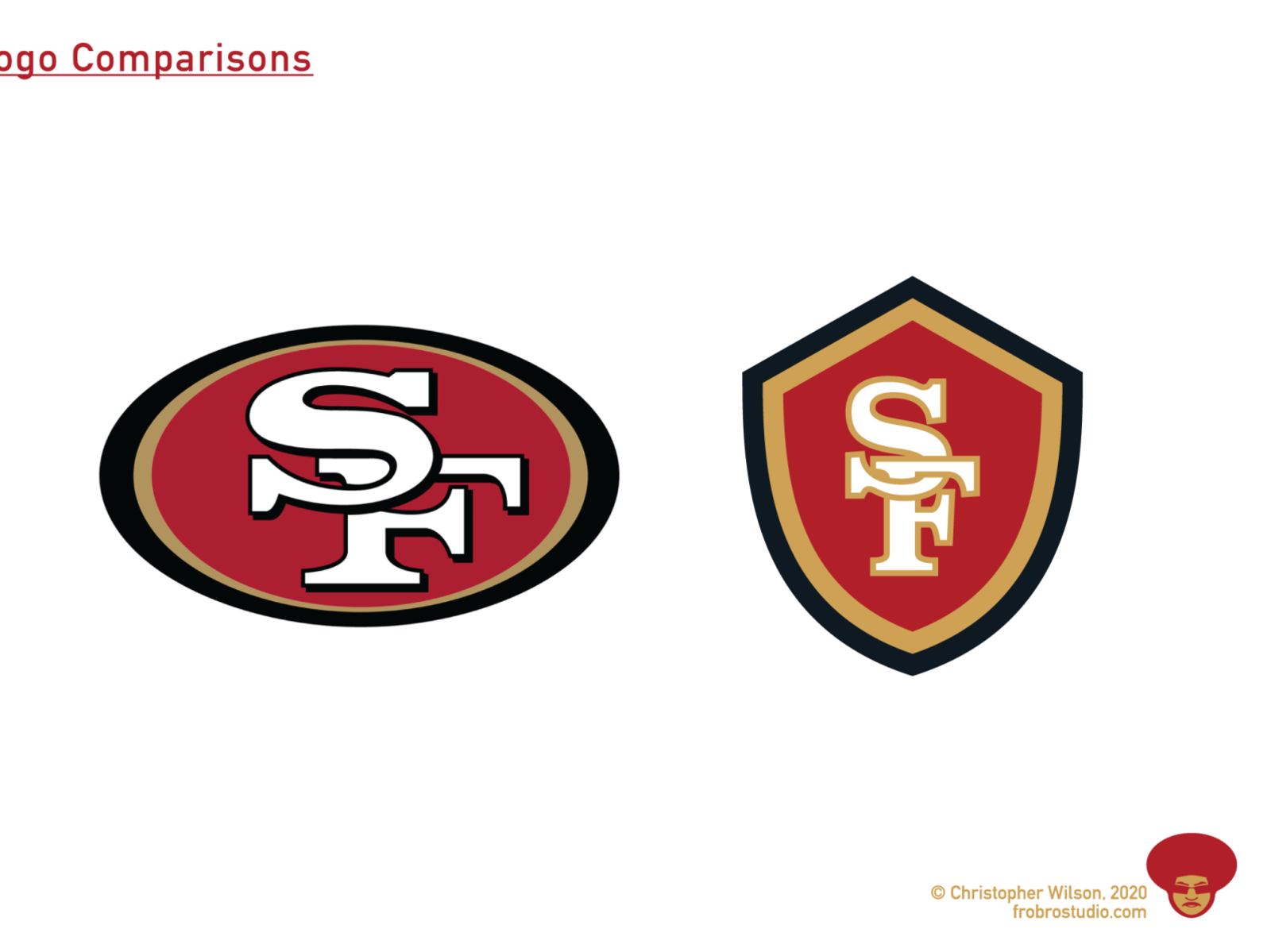 San Francisco 49ers Logo By Christopher Wilson On Dribbble