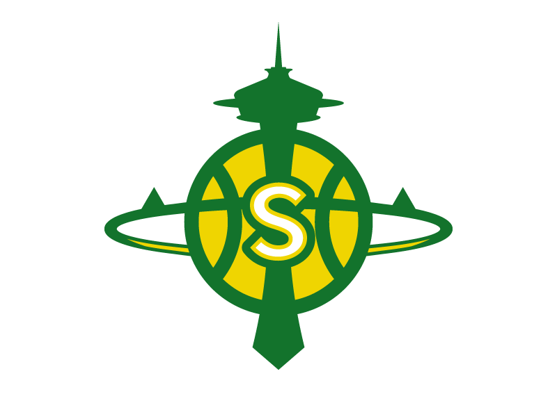 Seattle Supersonics Logo by Christopher Wilson  703dc1752662