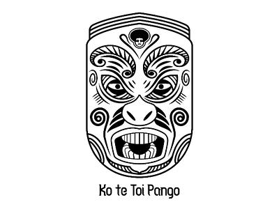 Tūmatauenga Mask maori new zealand mask